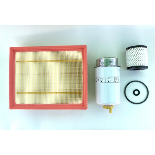 Defender Filter Kit 2.2, 2.4 2007 to 2013 + Workshop Manual CD